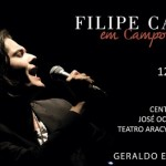 Show de Filipe Catto (12/03) beneficia Hospital Nosso Lar